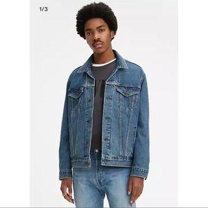 Levi's Trucker Denim Jean Jacket Medium Stonewash
